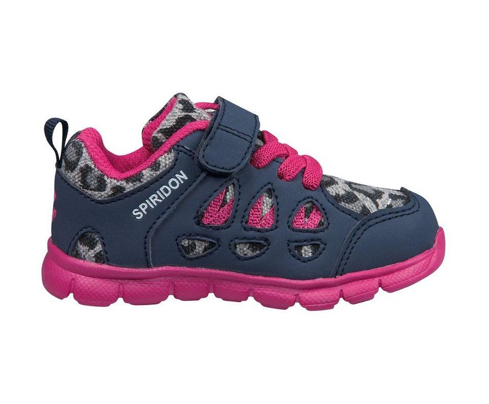 Brütting bequemer Sneaker für Kleinkinder »Spiridon fit kids VS« in marine/pink