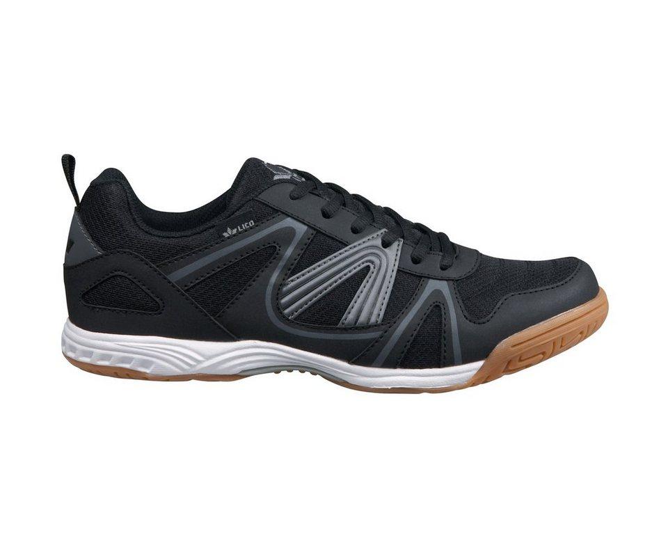 LICO Sportschuh »Fit indoor« in schwarz/grau