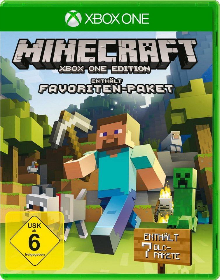 Microsoft Software Pyramide - Xbox One Spiel »Minecraft Fan-Edition«