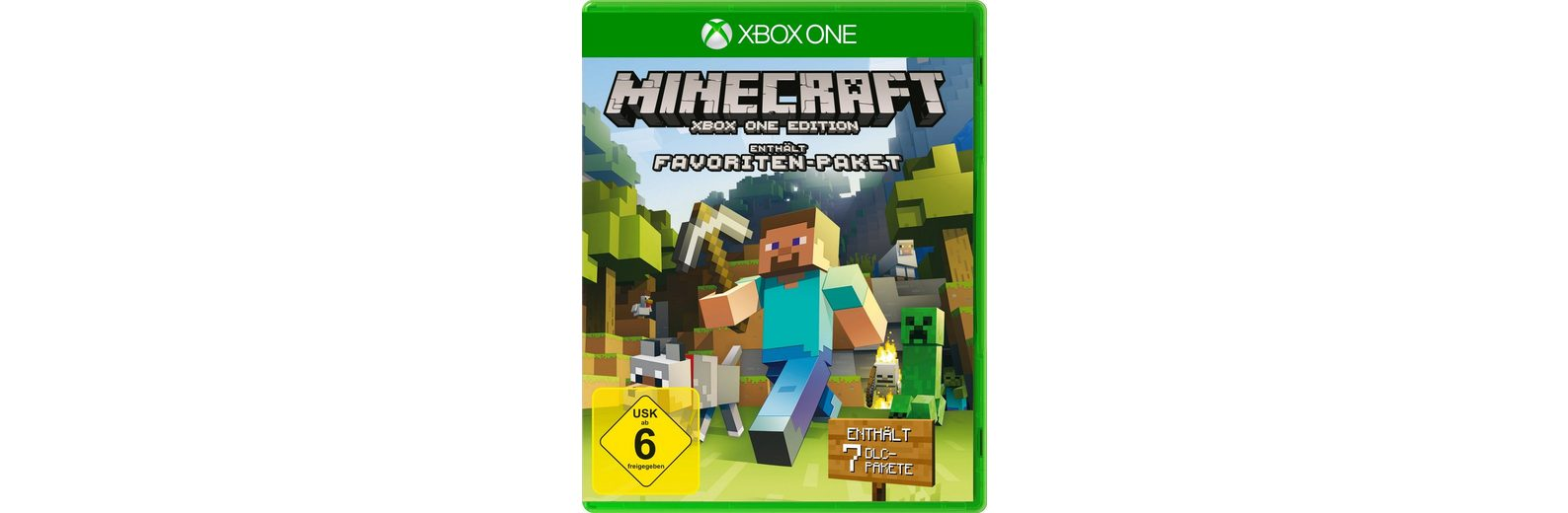 Microsoft Software Pyramide - Xbox One Spiel »Minecraft Fan-Edition«