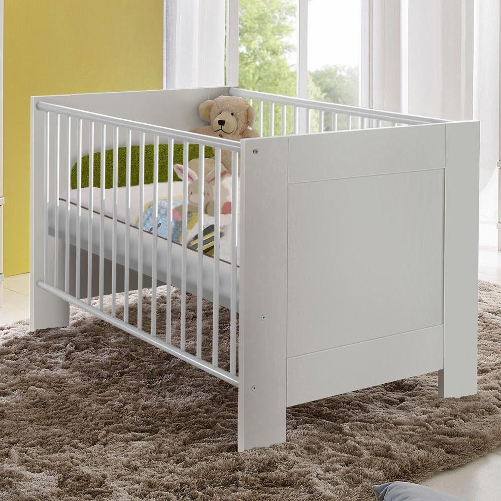 Babybett »Bella«, in weiß matt