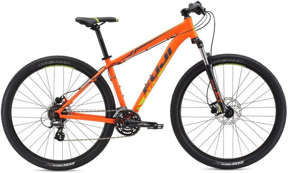 Fuji Herren Hardtail MTB, 29 Zoll, 24 Gang Shimano Altus Kettenschaltung, »NEVADA 3.0 LTD« in Orange-Citrus-Grau