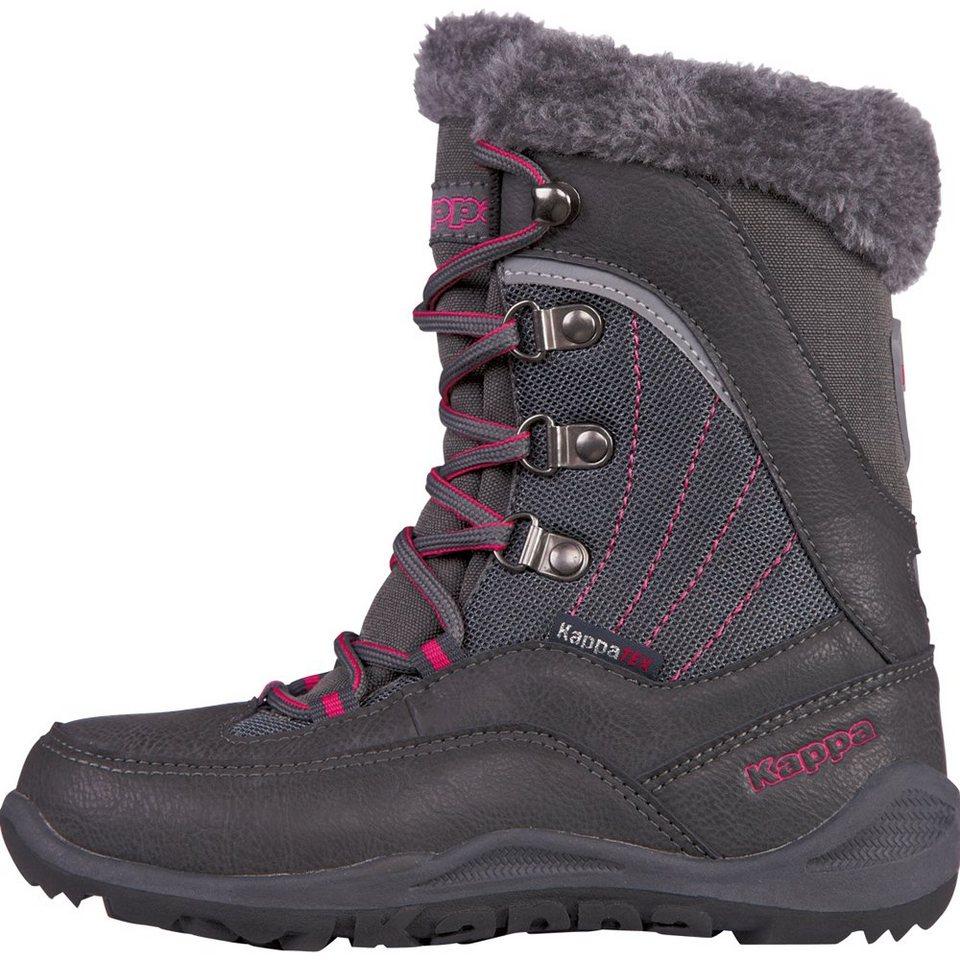 KAPPA Stiefel »CRYSTAL TEX TEENS« in anthra/pink