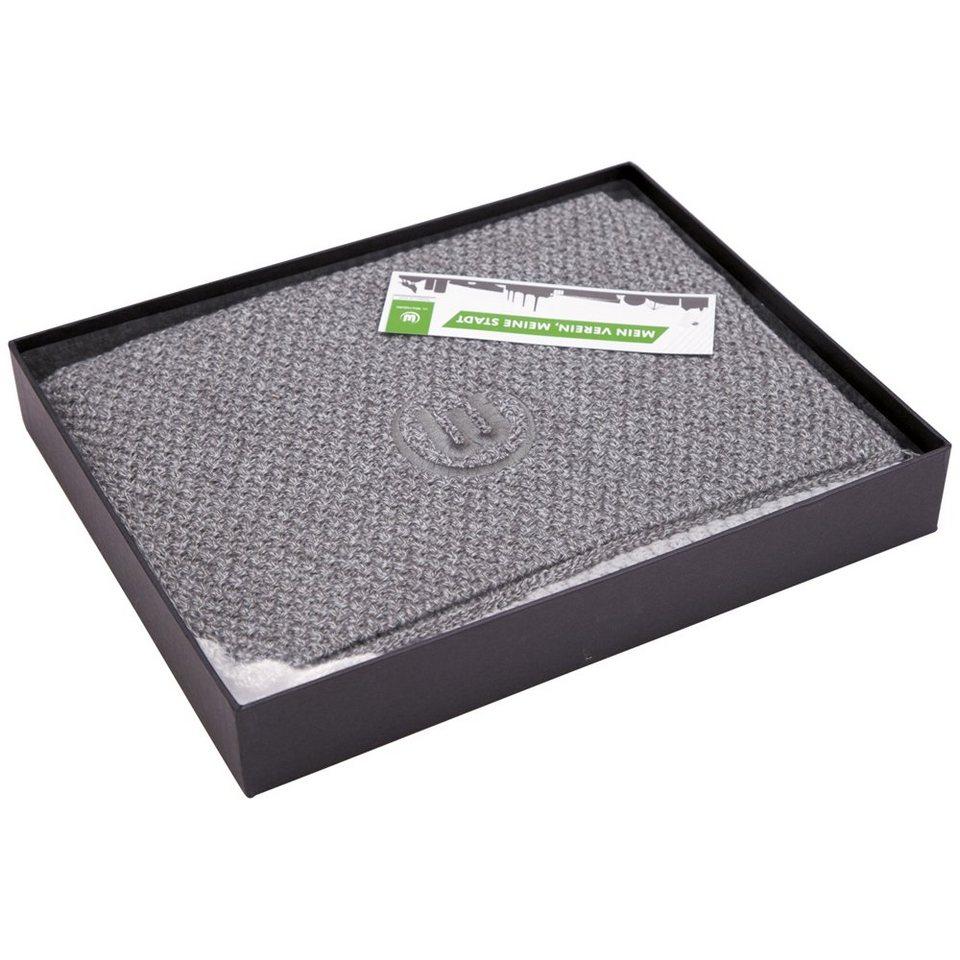 KAPPA Schal »VFL Wolfsburg Schal (inklusive Versandbox)« in grey melange