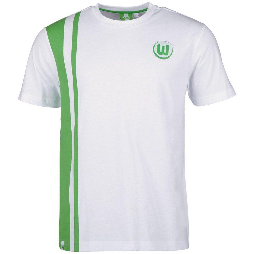KAPPA Fan Artikel »VFL Wolfsburg Unbranded T-Shirt« in white