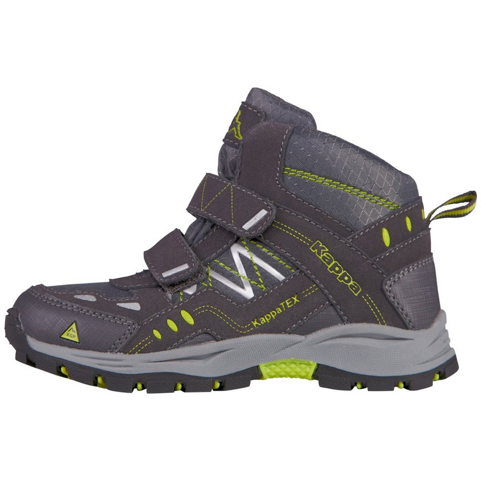 KAPPA Stiefel »BLISS MID II TEX KIDS« in anthra/lime