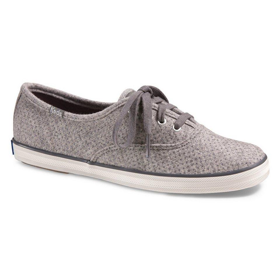 Keds Sneaker »Champion Glitter Wool« in grau