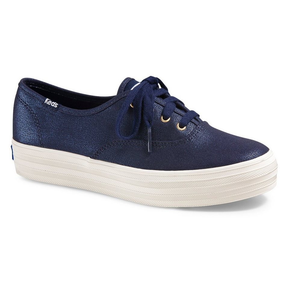 Keds Sneaker Metallic »Triple washed Metallic« in blau