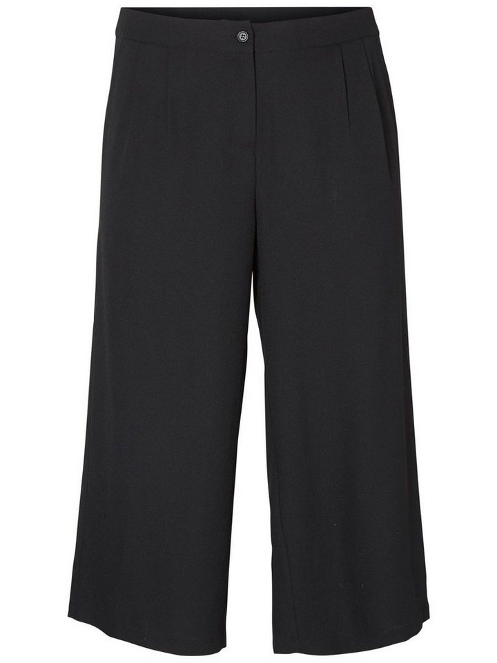 JUNAROSE Kurz geschnittene Hose in Black