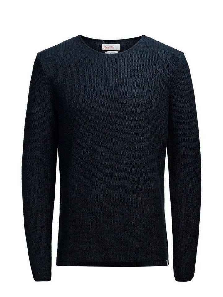 Jack & Jones Lässiger Pullover in Navy Blazer