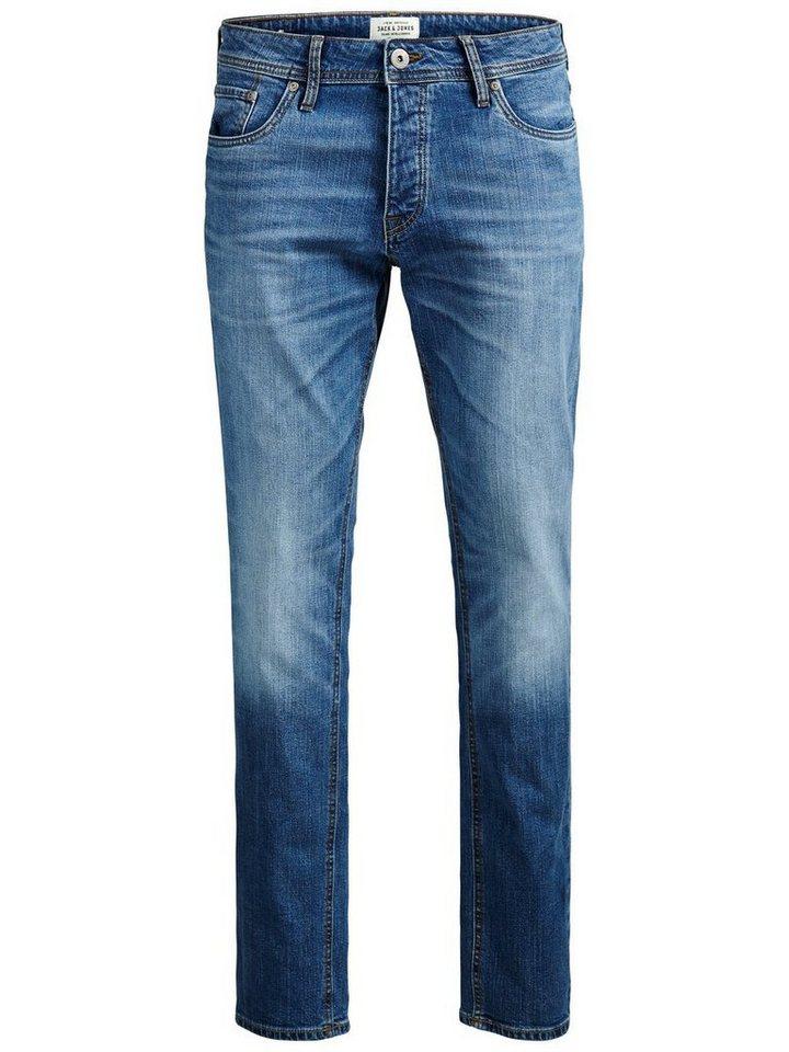 Jack & Jones Tim Original AM 013 Slim Fit Jeans in Blue Denim