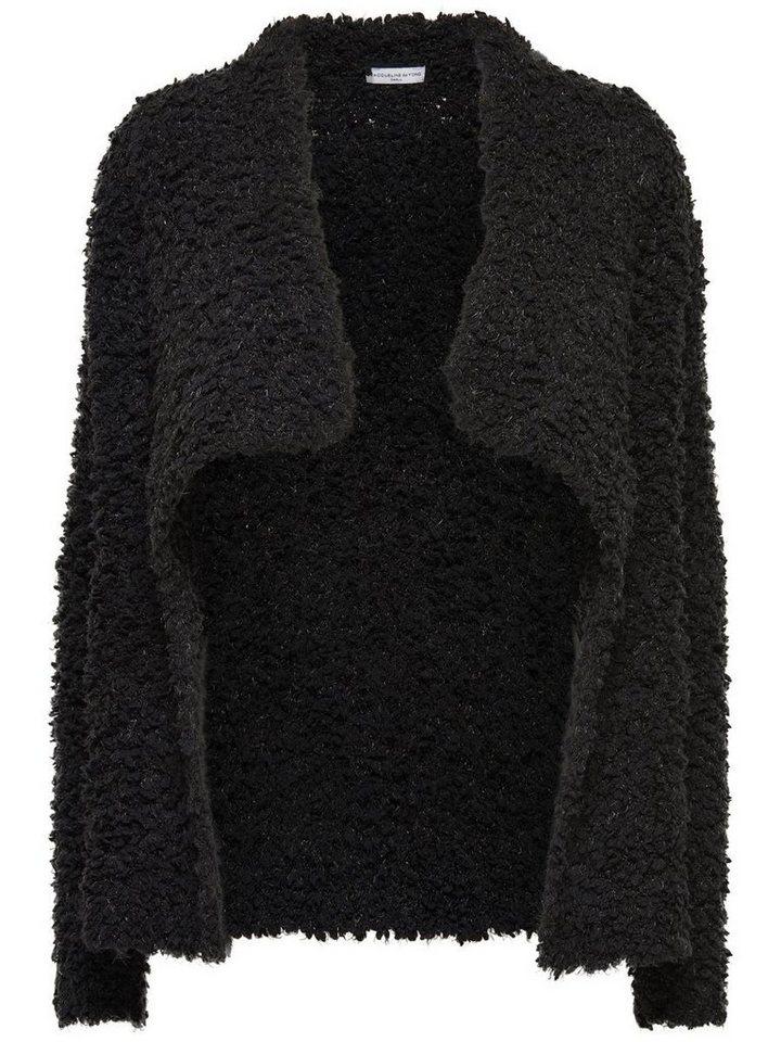 Only Lässiger Strick-Cardigan in Black