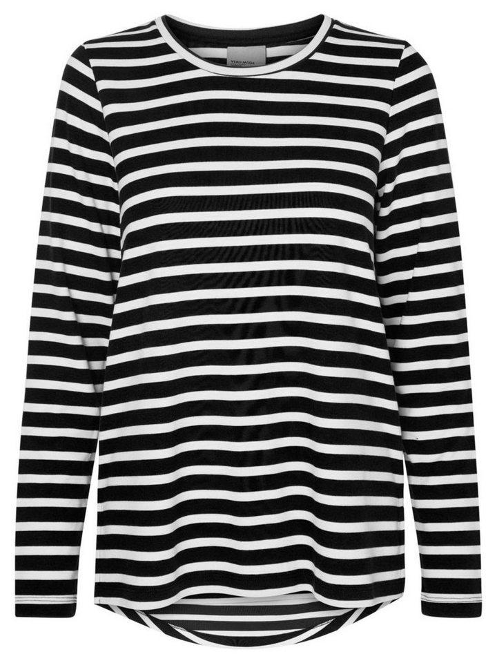 Vero Moda Langärmeliges Sweatshirt in Black