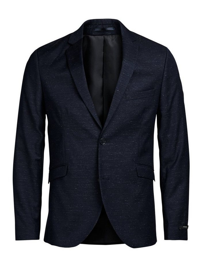 Jack & Jones Fleckmuster- Blazer in Dark Navy 2