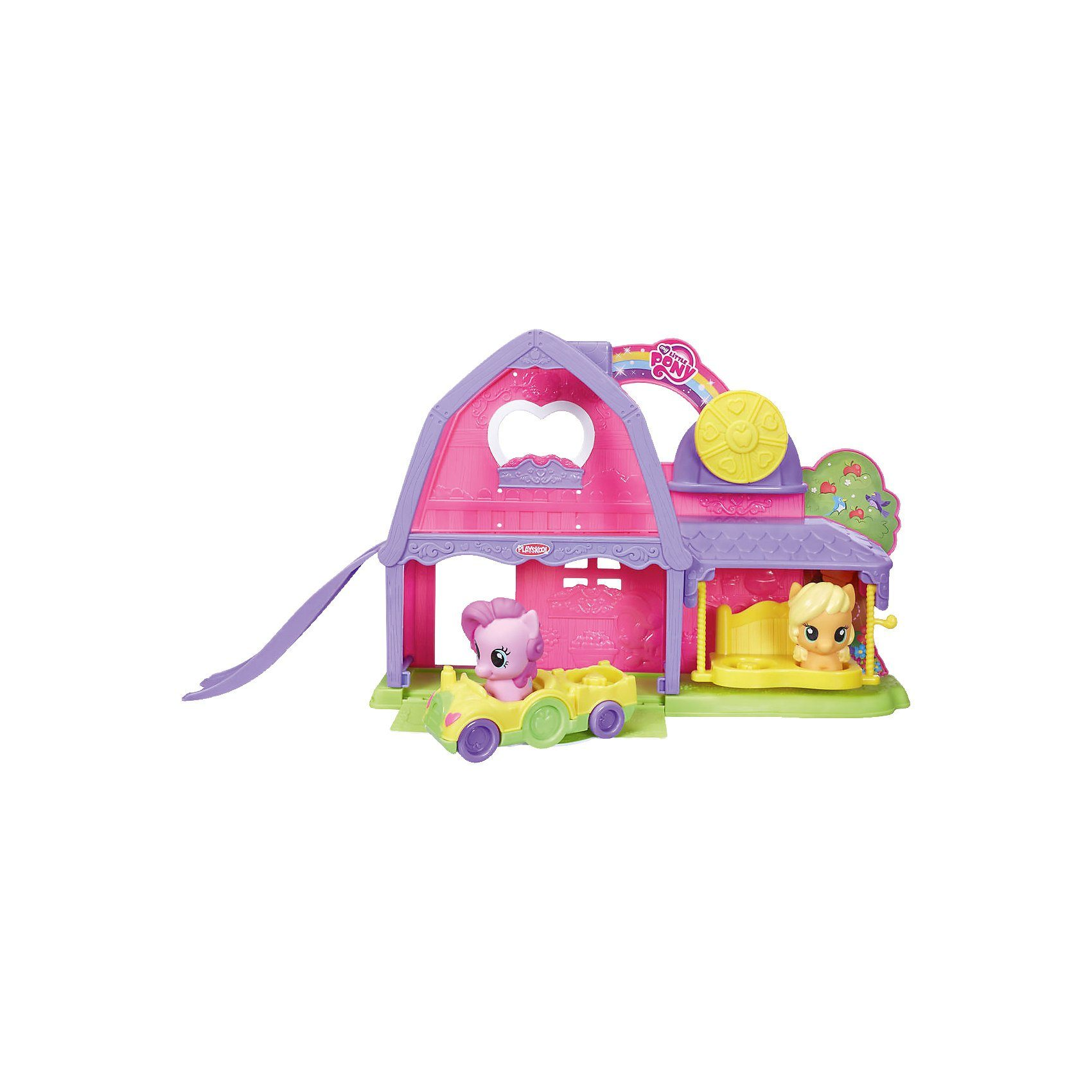 Hasbro My Little Pony Playskool Friends Pony Spielscheune