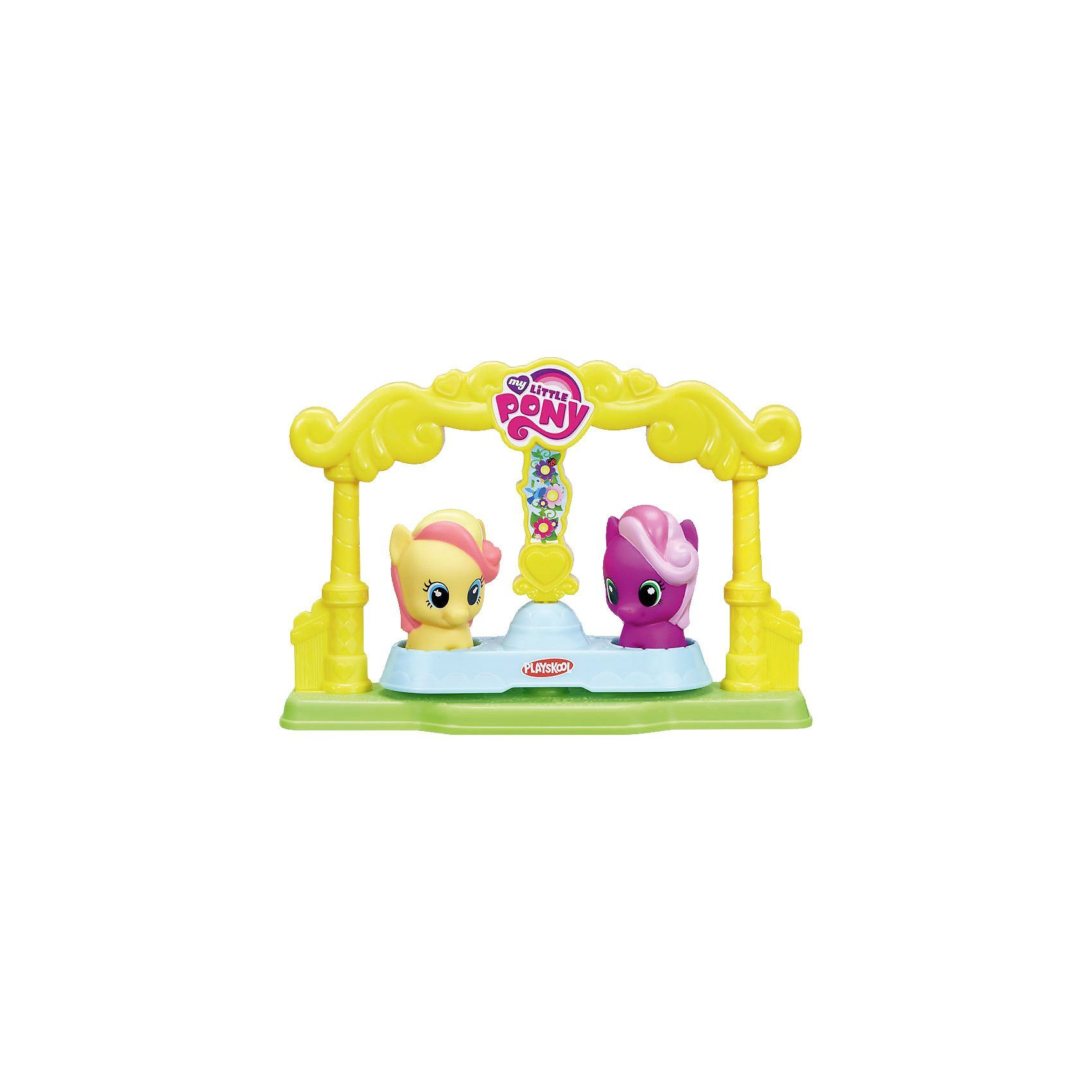 Hasbro My Little Pony Playskool Friends Pony Karussell-Freunde