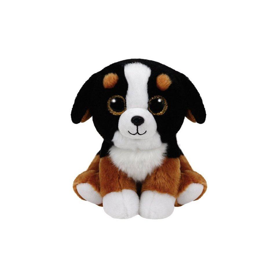 Ty Classics Hund Roscoe 33 cm schwarz weiss