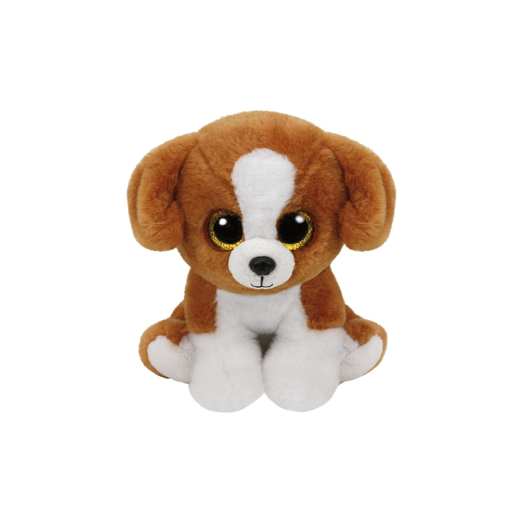 Ty Classics Hund Snicky 33cm braun weiss