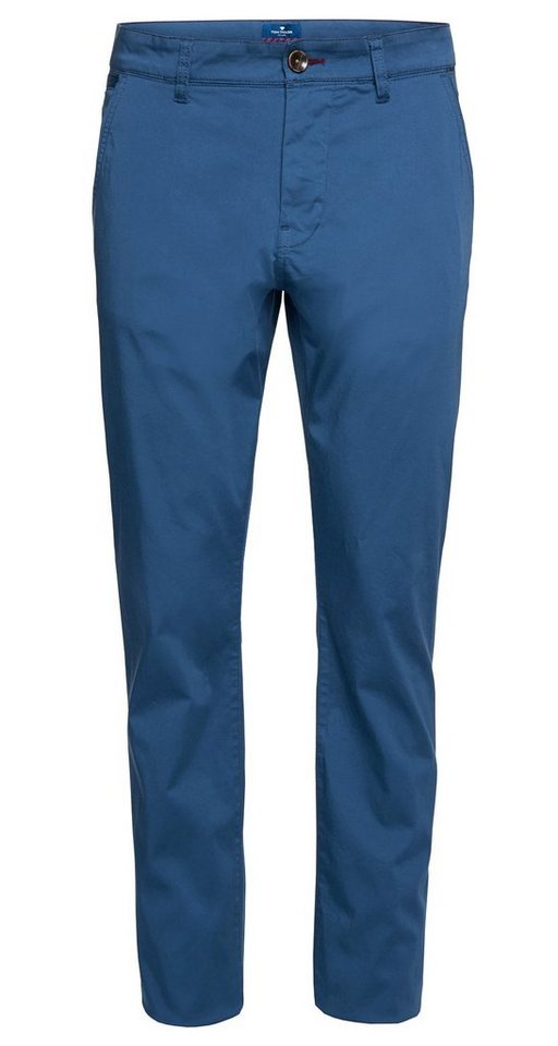 TOM TAILOR Hose »bequeme Chino mit Stretch-Anteil« in ensign blue
