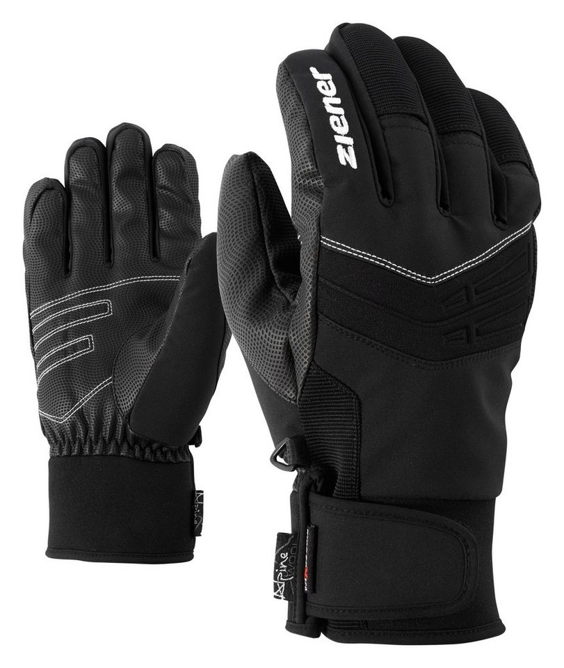 Ziener Handschuh »GINO AS(R) AW glove ski alpine« in black