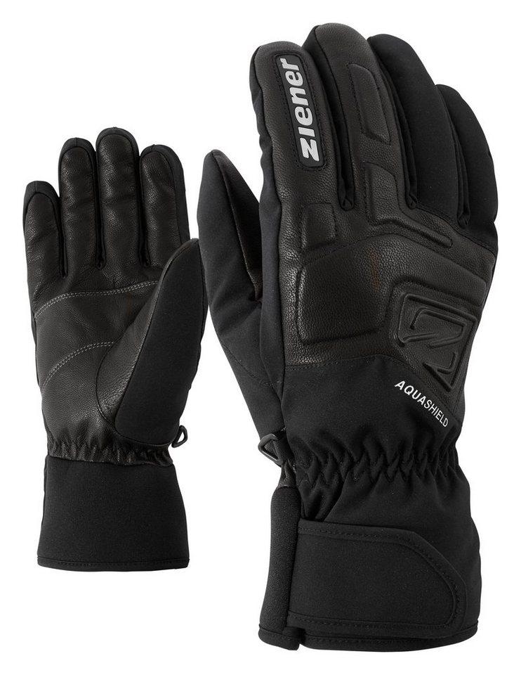 Ziener Handschuh »GLYXUS AS(R) glove ski alpine« in black