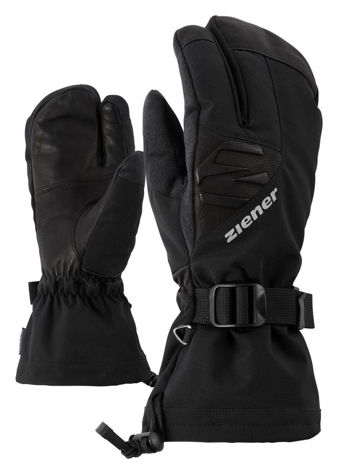 Ziener Handschuh »GOFRIEDER AS(R) LOBSTER glove ski a« in black
