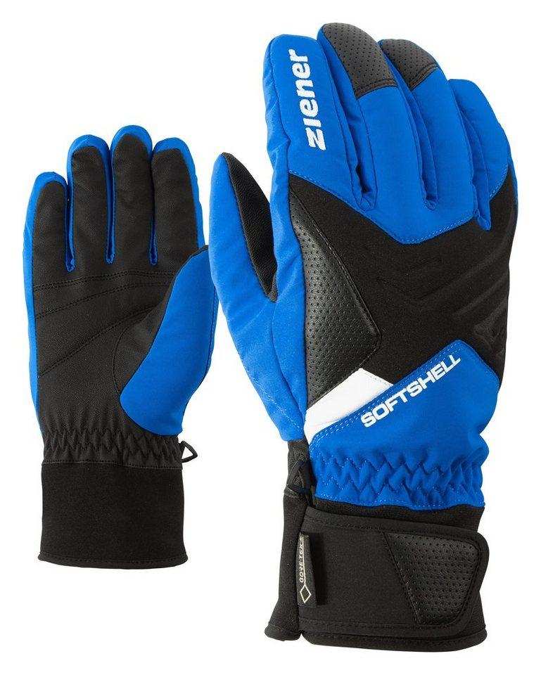 Ziener Handschuh »GOMSER GTX(R)+Gore active glove ski« in persian blue