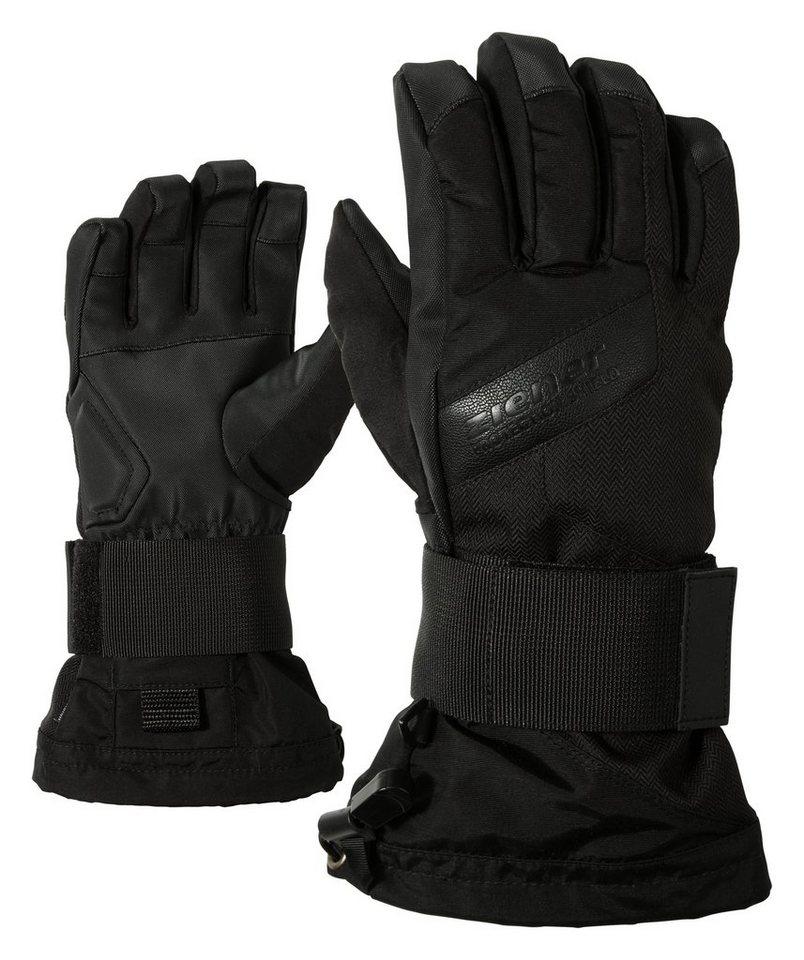 Ziener Handschuh »MIKKS AS(R) JUNIOR glove SB« in black hb