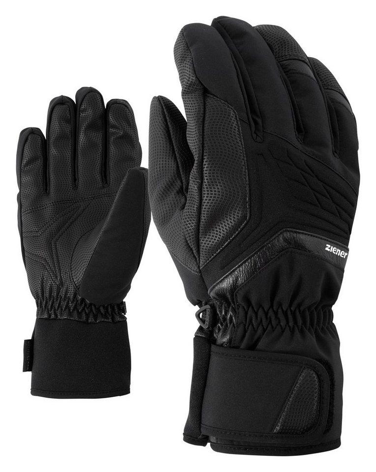Ziener Handschuh »GALVIN AS(R) glove ski alpine« in black