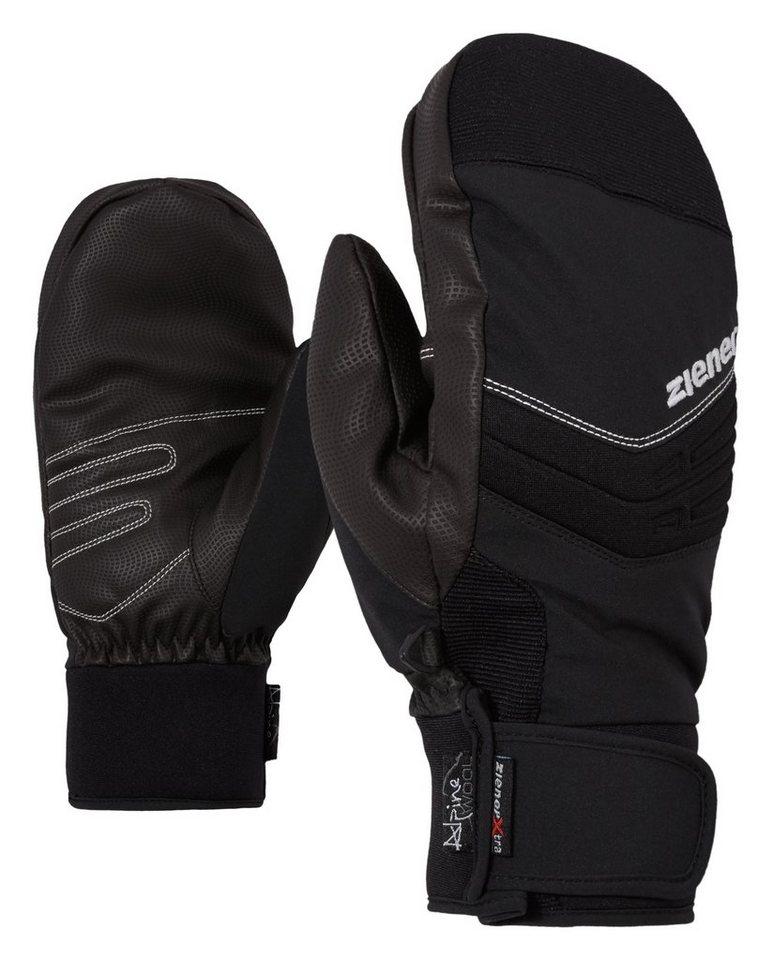 Ziener Handschuh »GINOSSO AS(R) AW MITTEN glove ski a« in black