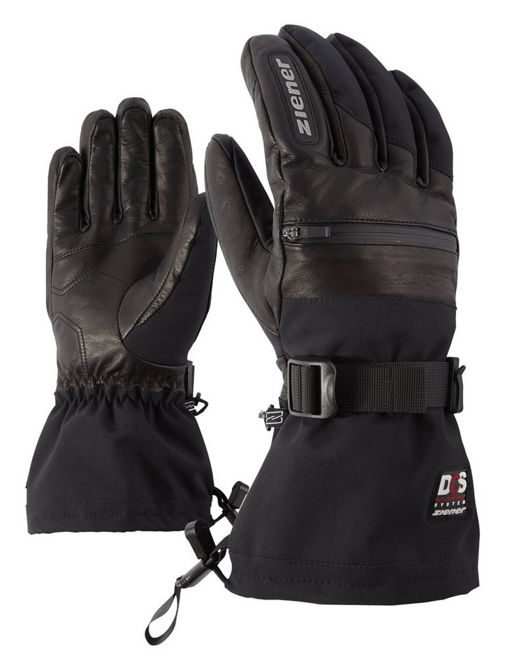 Ziener Handschuh »GALLIN AS(R) PR DCS glove ski alpin« in black