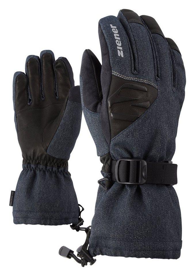 Ziener Handschuh »GOFRIED AS(R) glove ski alpine« in denim