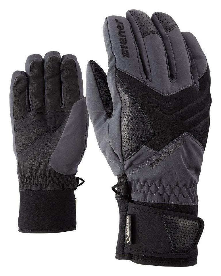 Ziener Handschuh »GOMSER GTX(R)+Gore active glove ski« in ebony