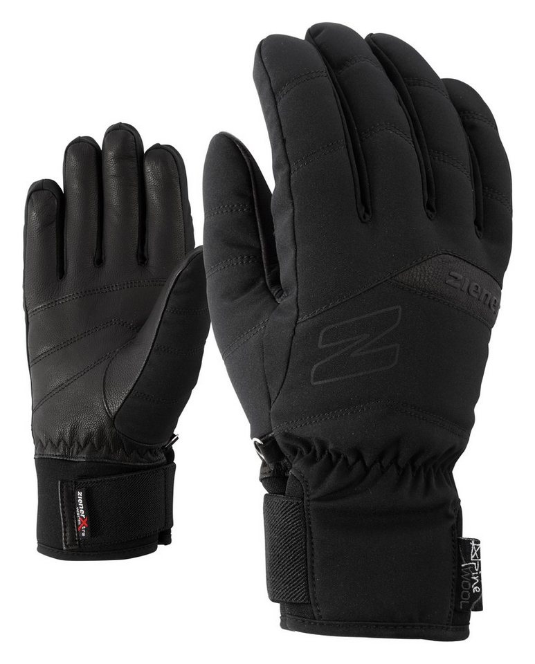 Ziener Handschuh »KOMI AS(R) AW lady glove « in black