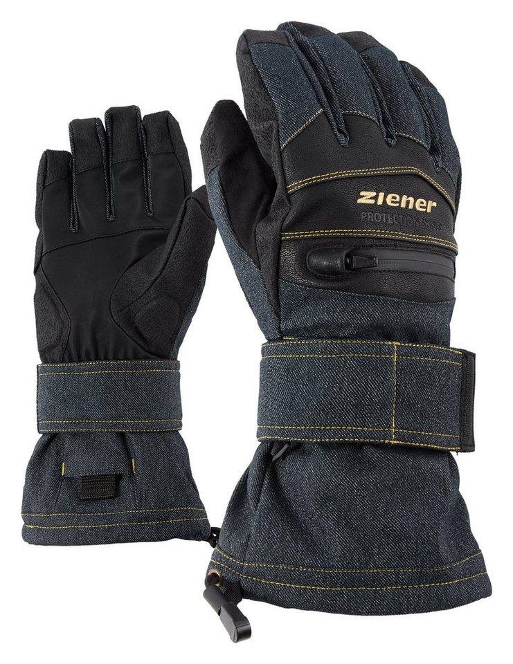Ziener Handschuh »MIDLIFE AS(R) glove SB« in denim