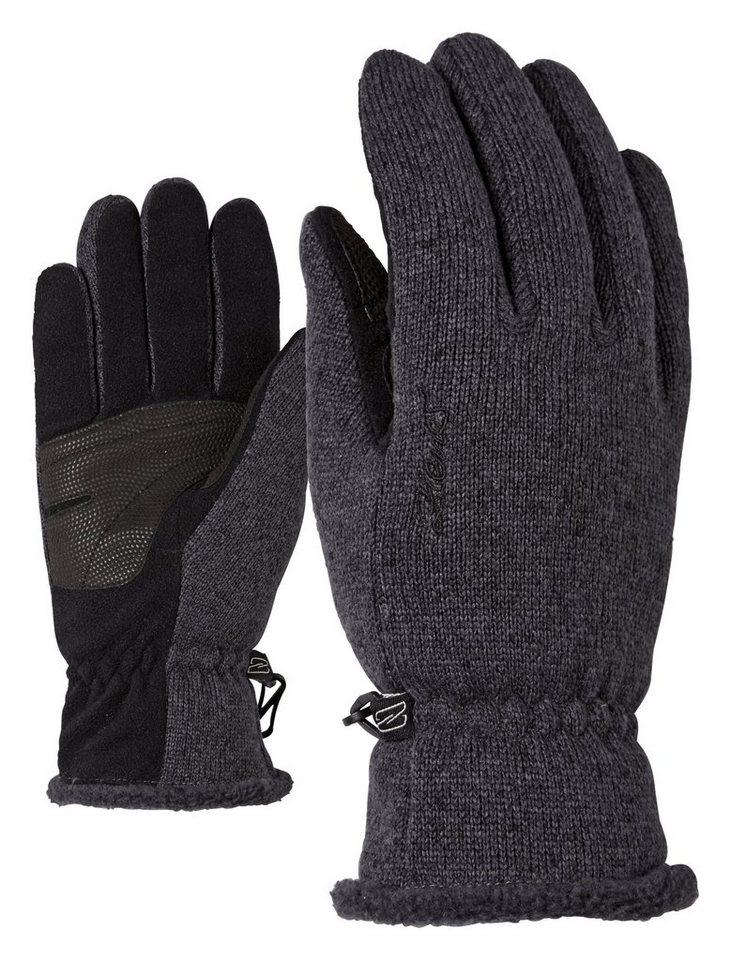 Ziener Handschuh »IMARIANA LADY glove multisport« in black melange/black mel.
