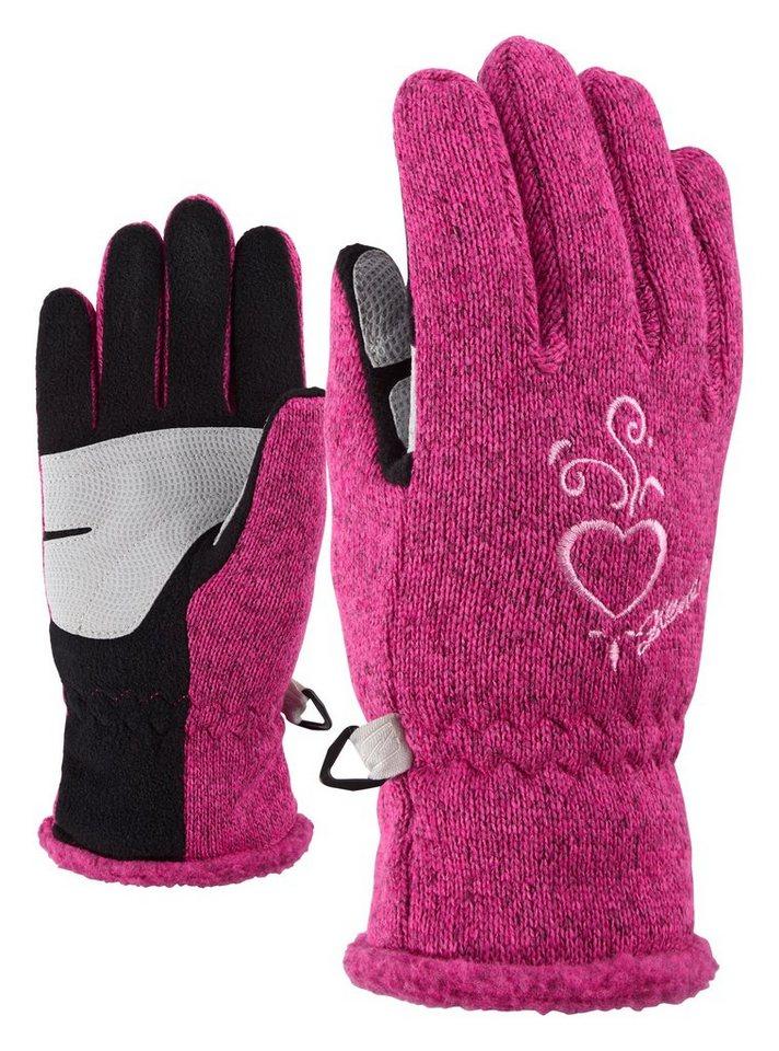 Ziener Handschuh »LIMARA JUNIOR glove multisport« in pop pink