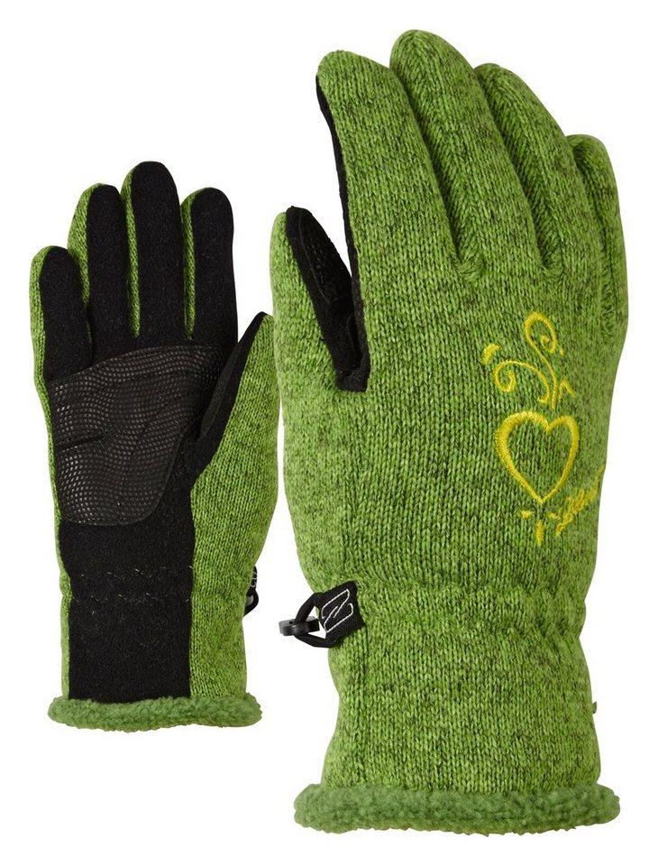 Ziener Handschuh »LIMARA JUNIOR glove multisport« in sunny green