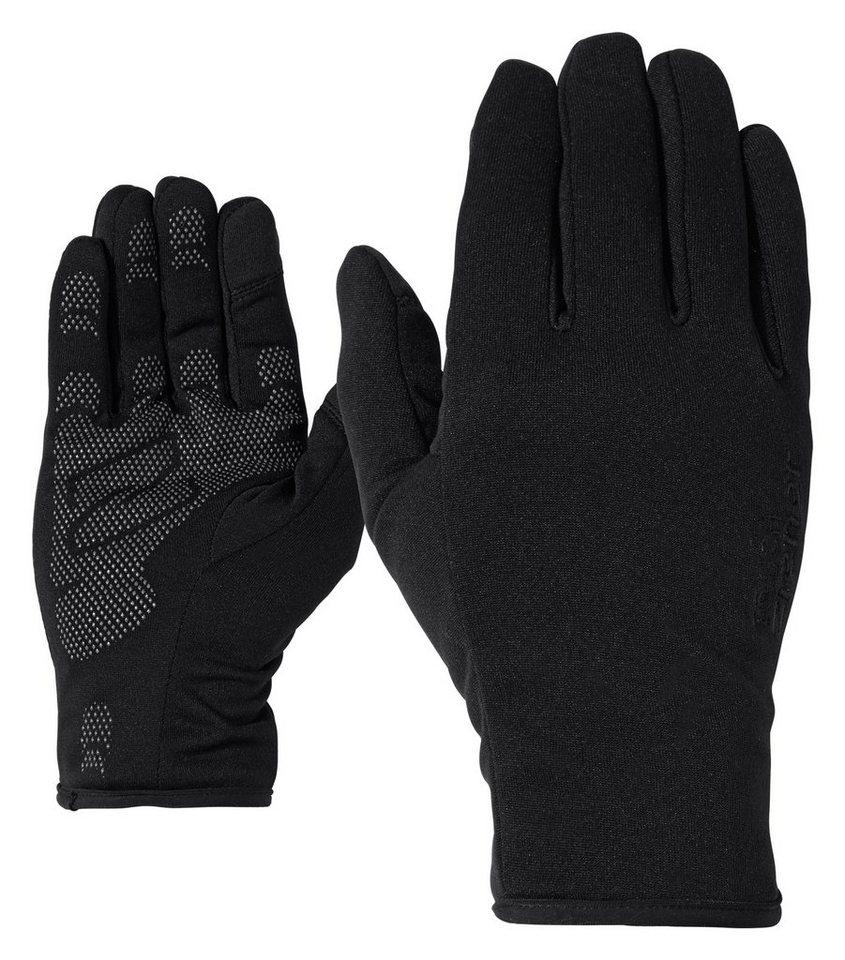 Ziener Handschuh »INNERPRINT TOUCH glove multisport« in black