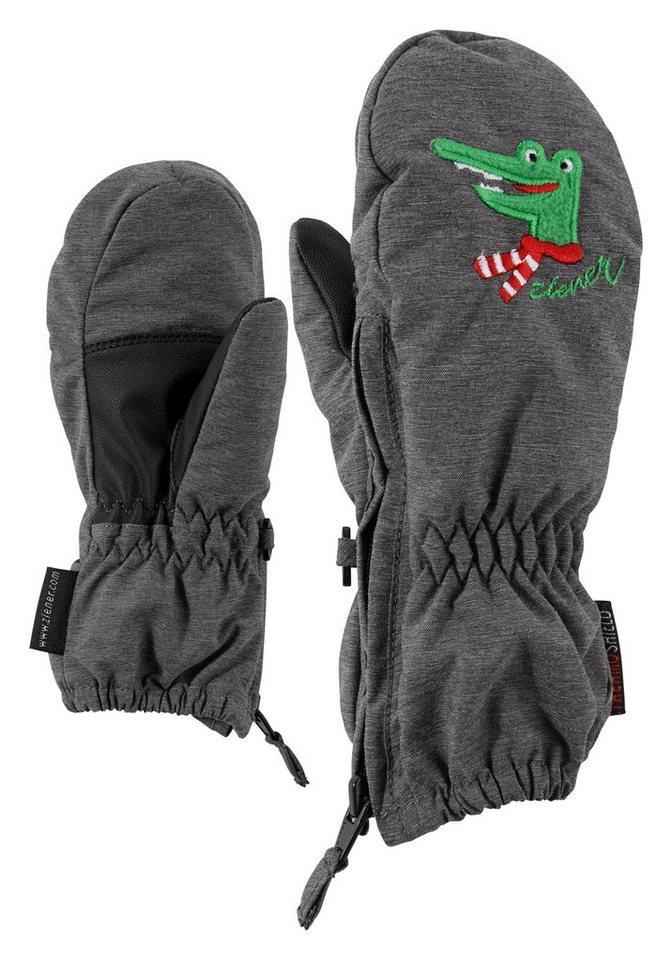 Ziener Handschuh »LE ZOO MINIS glove« in dark melange