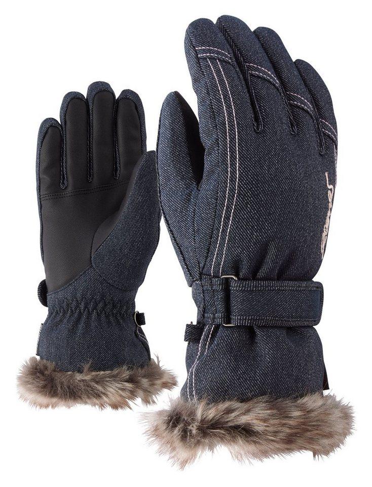 Ziener Handschuh »KIM lady glove « in denim