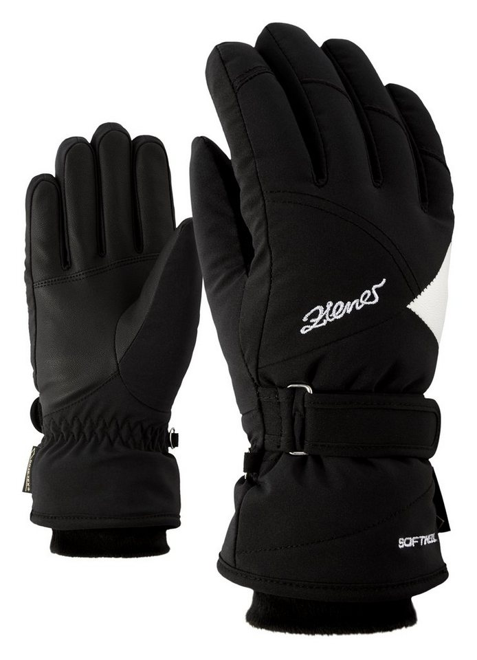 Ziener Handschuh »KARLA GTX(R)+Gore warm lady glove« in black/white