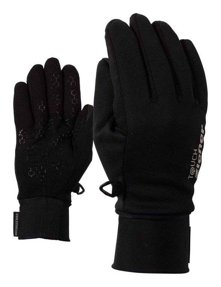 Ziener Handschuh »LIVIDUR TOUCH JUNIOR glove multispo« in black