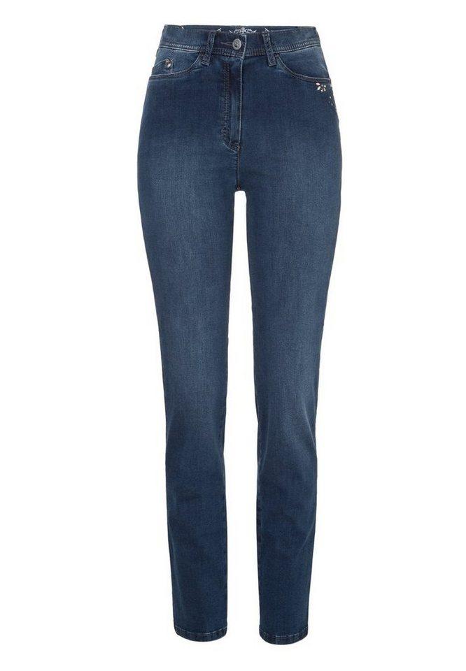 RAPHAELA by BRAX Jeans »LAURA BLOOM« in STONED