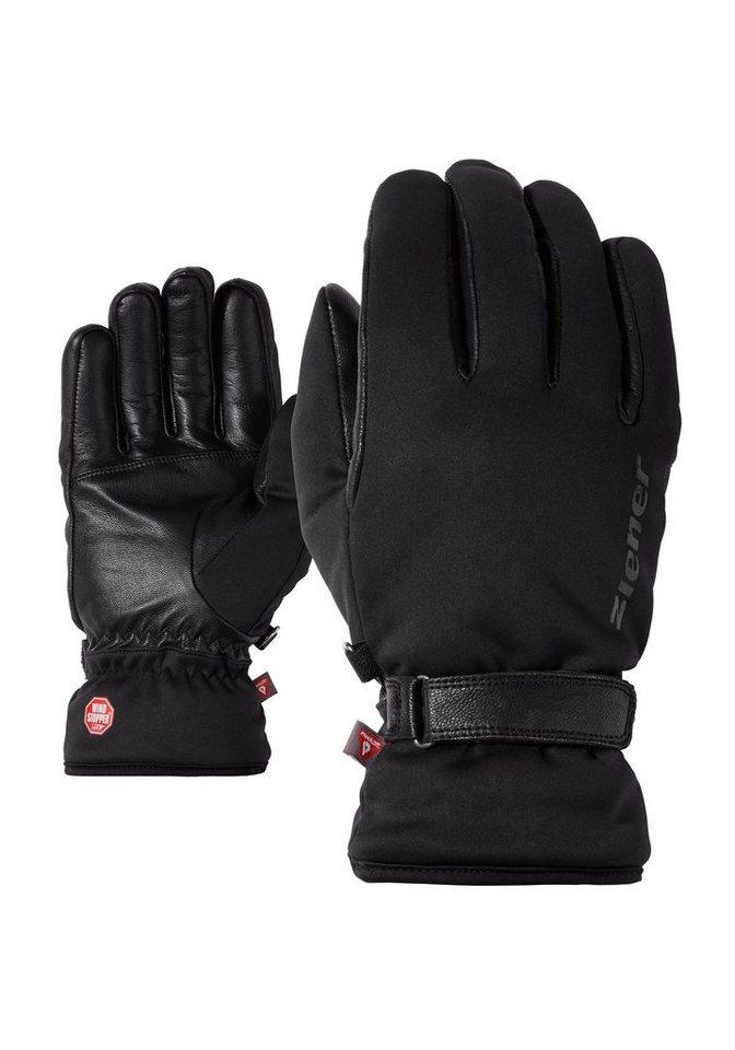 Ziener Handschuh »ITALICS GWS PR TOUCH glove multispo« in black
