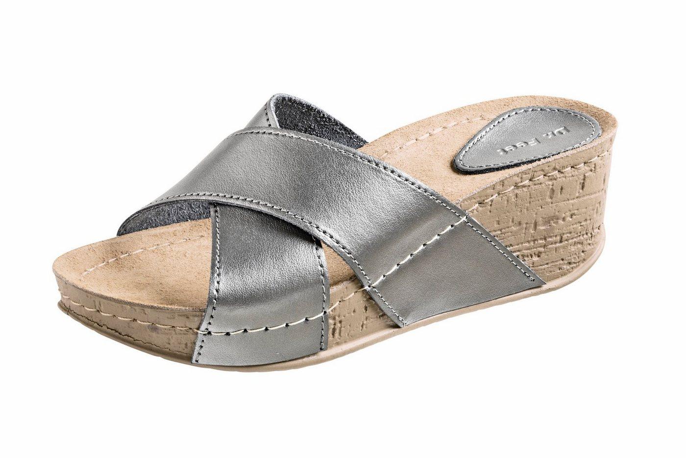 heine home Clogs mit überkreuzten Riemen | Schuhe > Clogs & Pantoletten | heine home