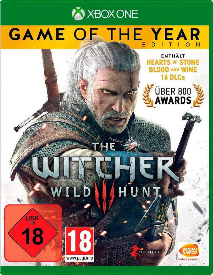 The Witcher3: Wild Hunt – Game of the Year Edition Xbox