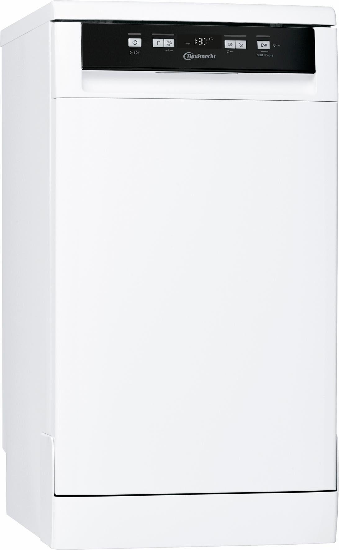 BAUKNECHT Standgeschirrspüler, GCF 625, 10 l, 10 Maßgedecke, 45 cm breit
