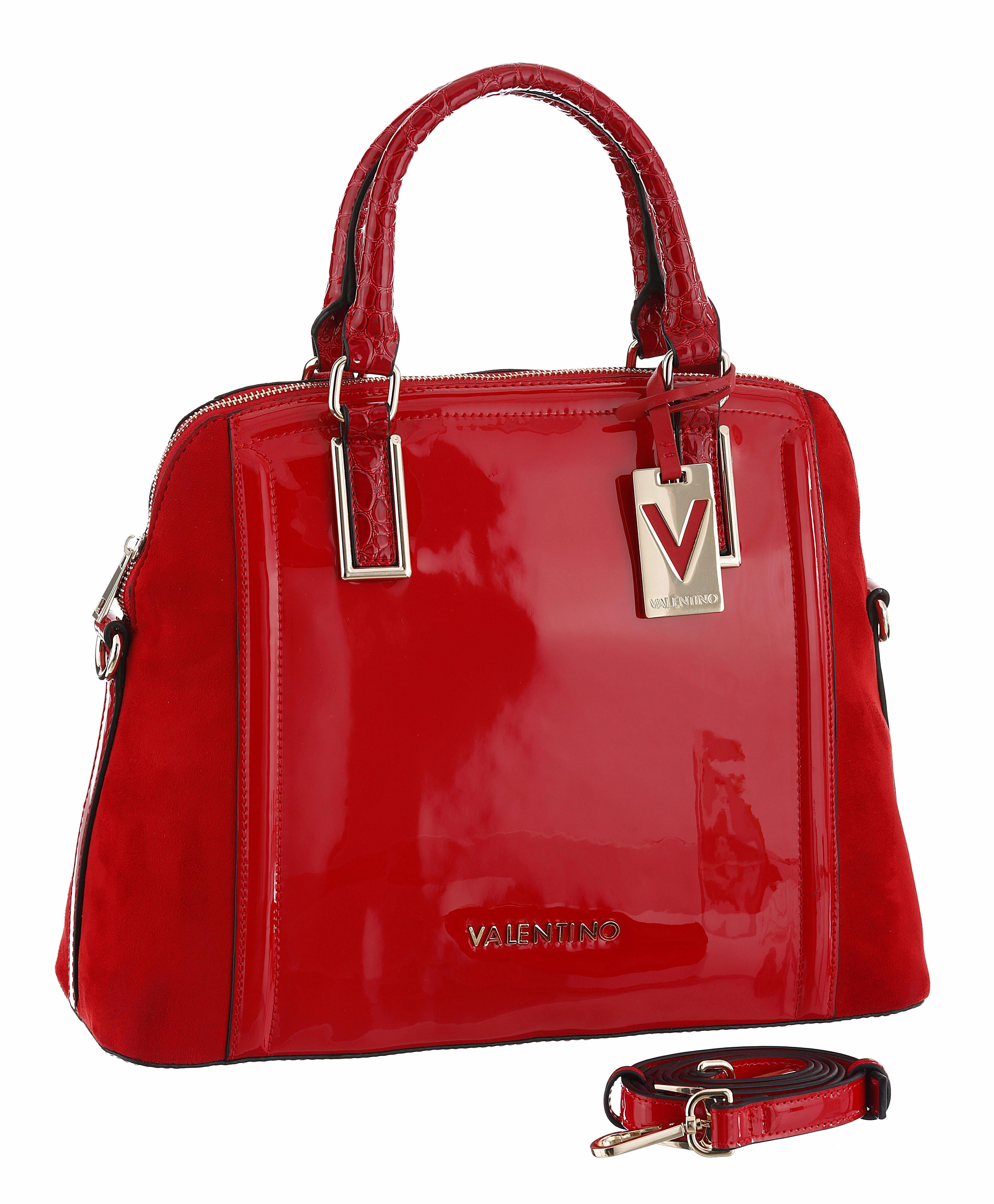 Valentino handbags Henkeltasche, im Lack Look