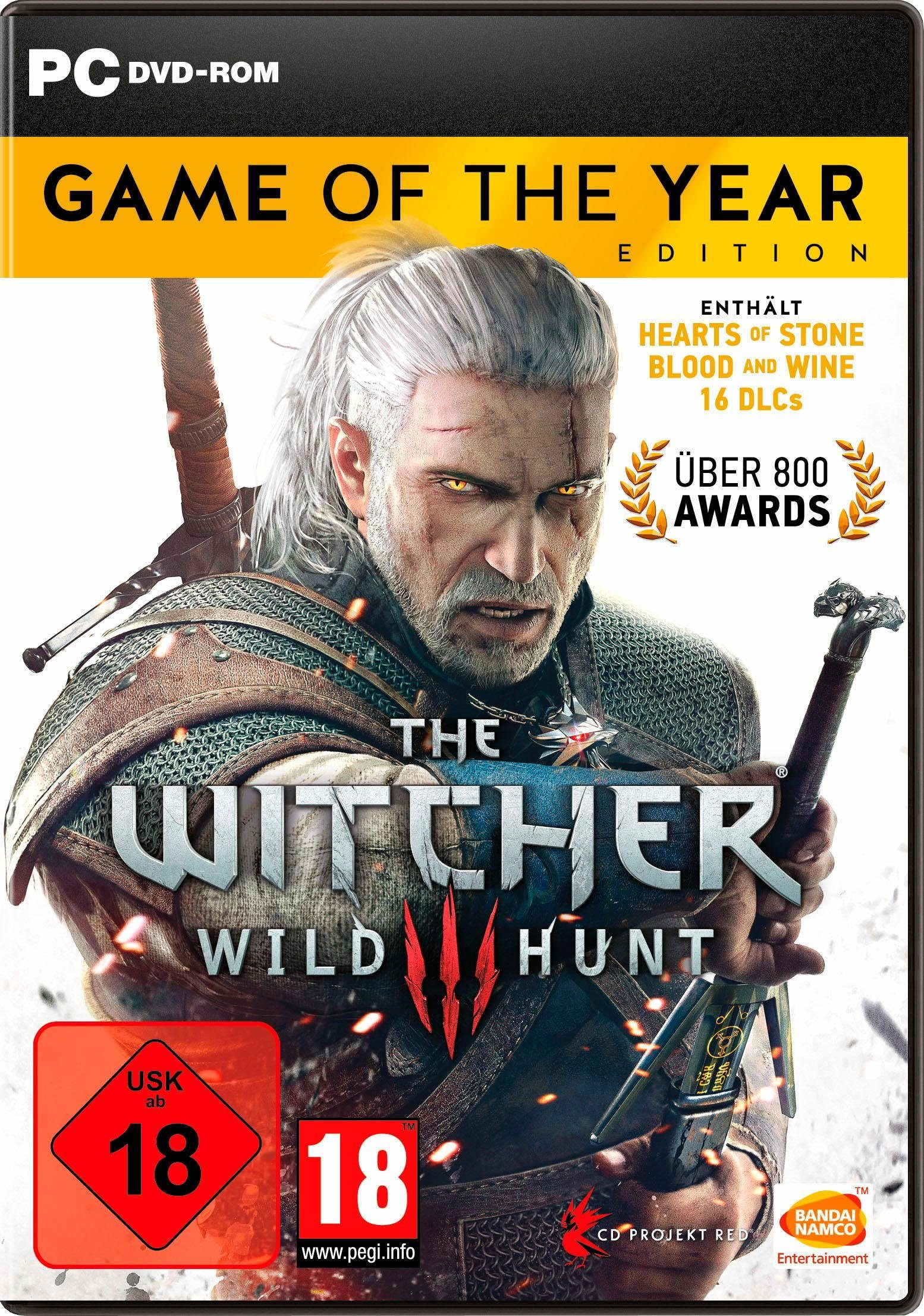 The Witcher3: Wild Hunt – Game of the Year Edition PC